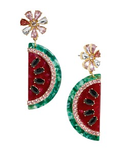 BAUBLEBAR - Watermelon Drop Earrings