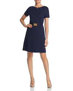 Tory Burch - Belted A-Line Dress