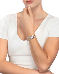 Alexis Bittar - Liquid Link Crystal Cuff Bracelet