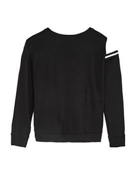 Flowers by Zoe - Girls' Cutout-Shoulder Sweatshirt - Big Kid