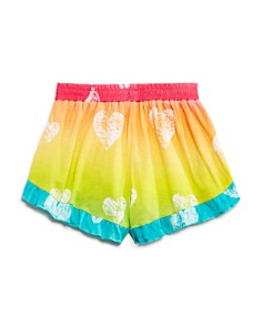Flowers by Zoe - Girls' Ombré Heart Shorts - Little Kid