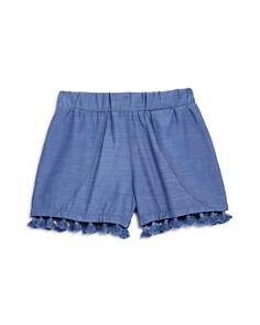 Mini Series - Girls' Chambray Tassel Shorts, Little Kid - 100% Exclusive