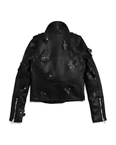 BLANKNYC - Girls' It Takes Two Faux-Leather Motorcycle Jacket - Big Kid