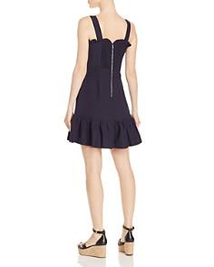 AQUA - Sleeveless Ruffle-Trim Dress - 100% Exclusive