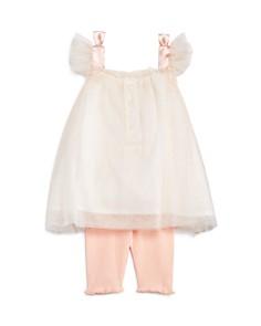 Miniclasix - Girls' Butterfly Tutu Tank & Leggings Set - Baby