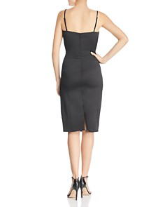Laundry by Shelli Segal - Ruched Satin Sheath Dress - 100% Exclusive