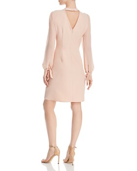 nanette Nanette Lepore - Mock-Neck Keyhole Dress