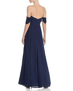 WAYF - Rachel Cold-Shoulder Dress