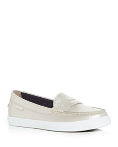 Cole Haan - Women's Nantucket Moc-Toe Penny Loafers