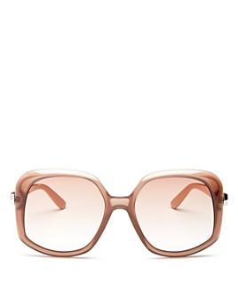 Jimmy Choo - Women's Amada Square Sunglasses, 56mm