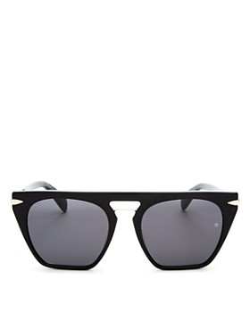 rag & bone - Women's Flat Top Square Sunglasses, 53mm