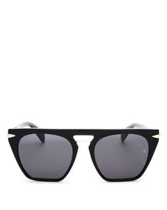 Rag & Bone Sunglasses Women's Flat Top Square Sunglasses, 53mm