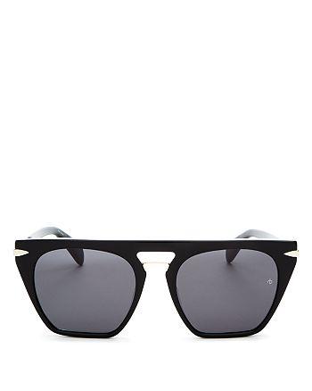 rag & bone - Women's Flat Top Square Sunglasses, 53mm