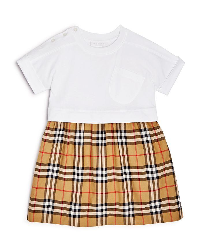 Burberry - Girls' Ruby Vintage Check Skirt Dress - Little Kid, Big Kid