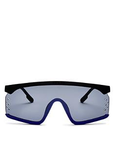 Kenzo - Women's Mirrored Shield Sunglasses, 145mm