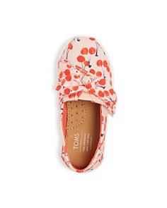 TOMS - Girls' Cherry Alpargata Slip-On Sneakers - Baby, Walker, Toddler