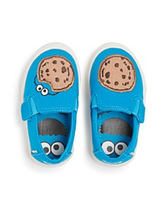 TOMS - x Sesame Street Boy's Cookie Monster Luca Low-Top Sneakers - Baby, Walker, Toddler