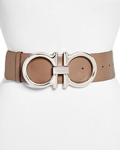 Salvatore Ferragamo - New Gancini Leather Belt
