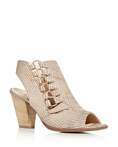 Paul Green - Women's Sabrina Open-Toe High-Heel Booties