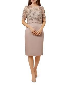 HOBBS LONDON - Anna Two-Piece Sheath Dress