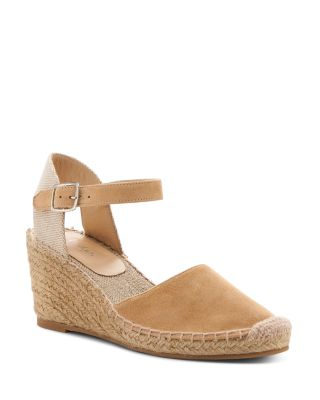 Women's Elia Suede Ankle Strap Espadrille Wedge Sandals by Botkier