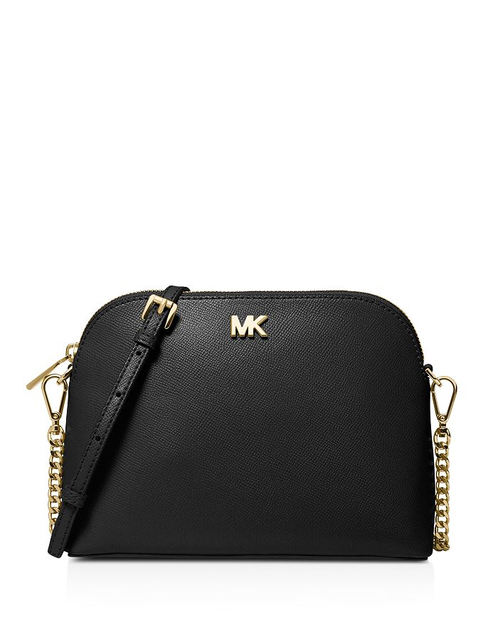 536c6bf8a325 MICHAEL Michael Kors Large Leather Zip Dome Crossbody | Bloomingdale's