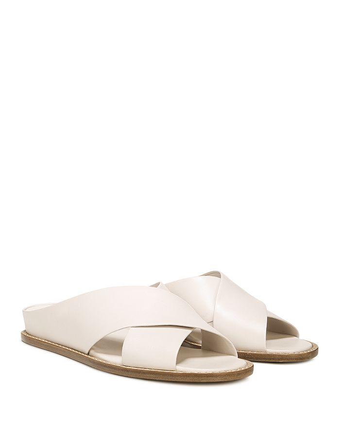 c3bc24e67a6 Vince - Women s Fairley Leather Slide Sandals