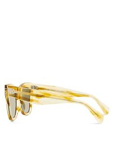 CELINE - Women's Mirrored Square Sunglasses, 50mm