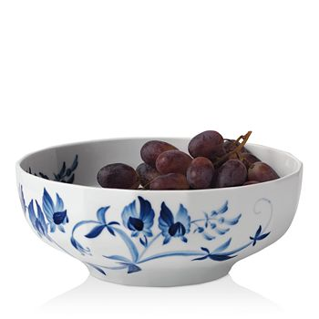 Royal Copenhagen - Blomst Sweet Pea Serving Bowl - 100% Exclusive