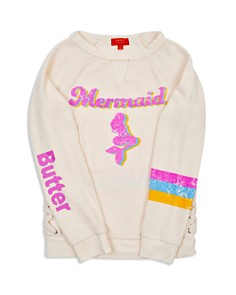 Butter - Girls' Mermaid Sweater - Little Kid, Big Kid