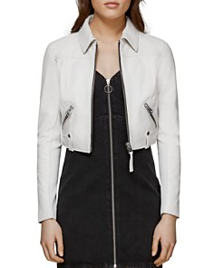 Mackage - Bessie Cropped Leather Jacket