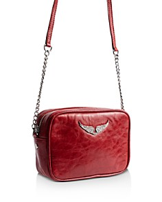 Zadig & Voltaire - Boxy Crush Extra Small Leather Crossbody