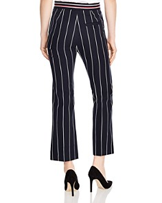 Sandro - Blanche Striped Cropped Pants