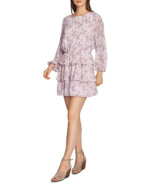 Image of 1.state Bloomsbury Floral Ruffle Dress