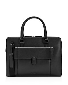 Ted Baker - Shomo Colored Leather Document Bag