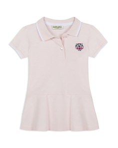 Kenzo - Girls' Embroidered-Tiger Polo Dress - Baby
