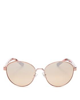 5b9ae2238dfb Tory Burch - Women's Round Sunglasses, ...