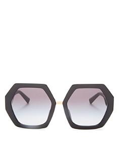 Valentino - Women's Geometric Sunglasses, 57mm
