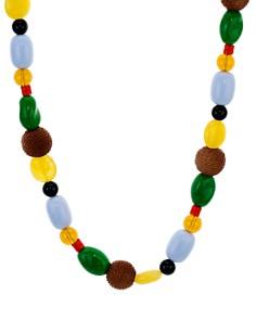 """AQUA - Multicolor Mixed-Bead Necklace, 26"""" - 100% Exclusive"""