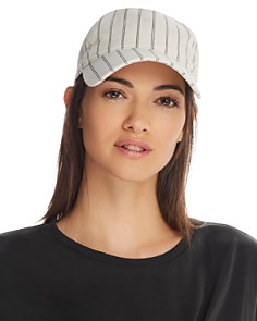rag & bone - Marilyn Striped Baseball Cap