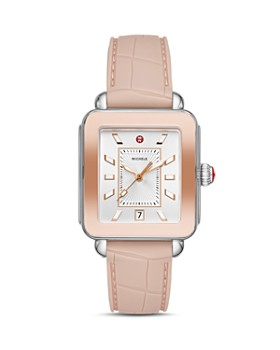 39690f6d4f9 MICHELE - Deco Sport Two-Tone Rose Gold-Tone Watch