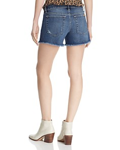 Joe's Jeans - Ozzie Frayed Denim Shorts in Alma