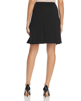 KARL LAGERFELD Paris - Pleated A-Line Skirt
