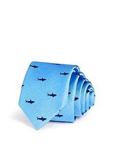 Michael Kors - Boys' Shark Print Silk Tie