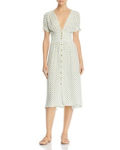 Faithfull the Brand - Billie Dot Midi Dress