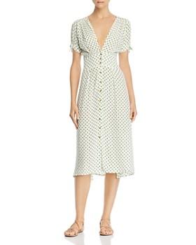 Faithfull the Brand - Billie Dot Midi Dress
