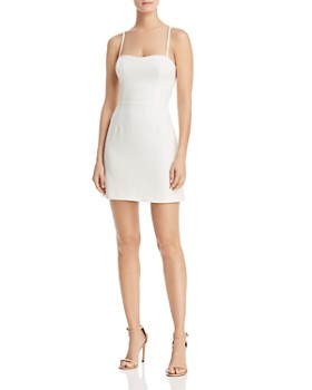 e95d42de50a4 ... FRENCH CONNECTION - Summer Whisper Tie-Back Mini Sheath Dress