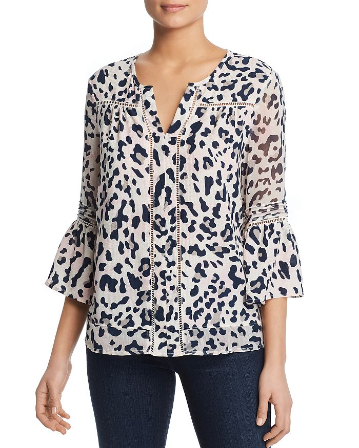 Single Thread - Animal Print Blouse