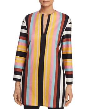 Tory Burch - Striped Beach Tunic Top