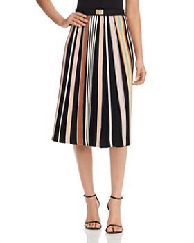 b81cb8ef1eb Tory Burch - Striped Knit Skirt ...